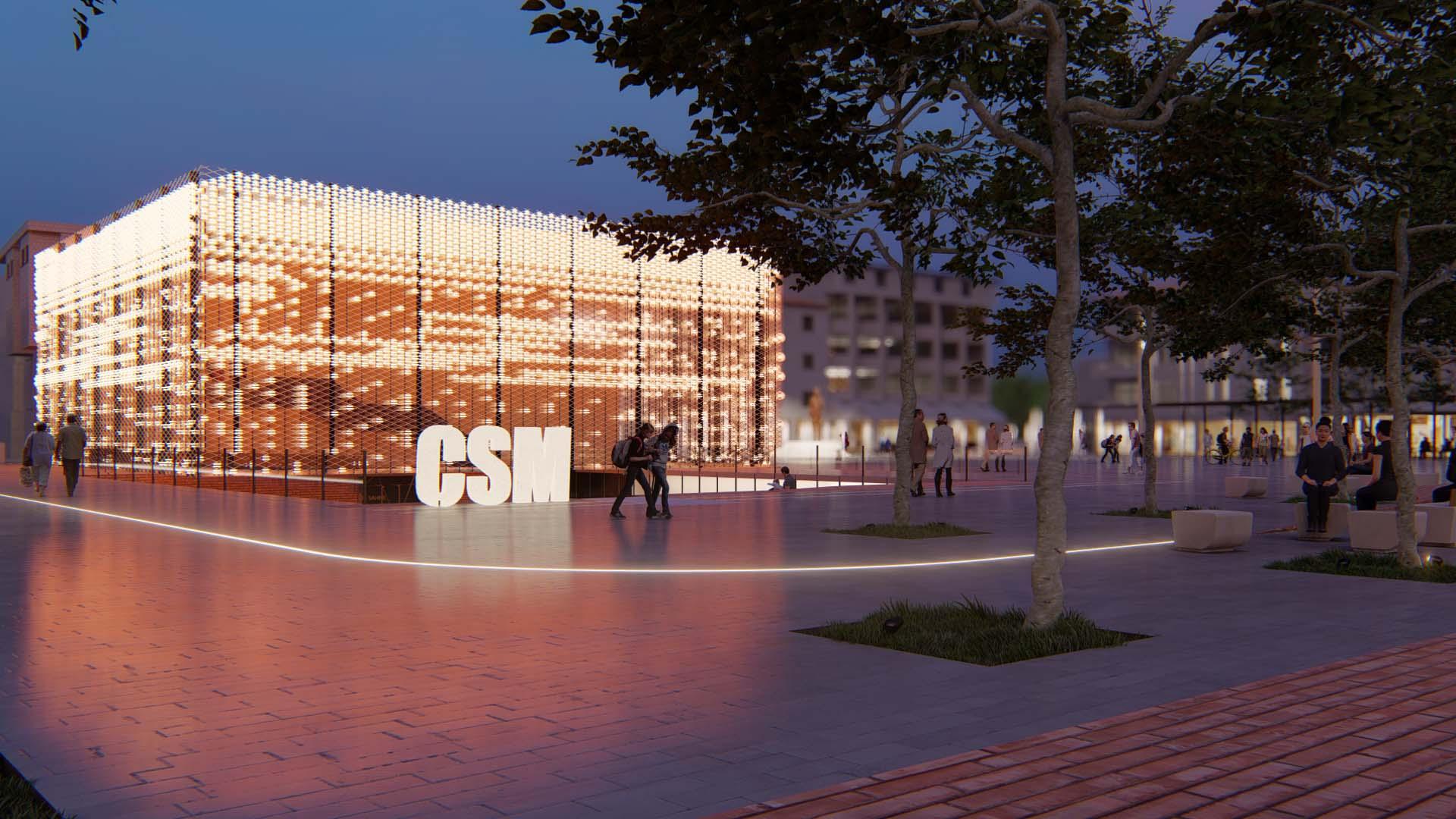 Gün Batımı Çağdaş Sanatlar Merkezi Binası