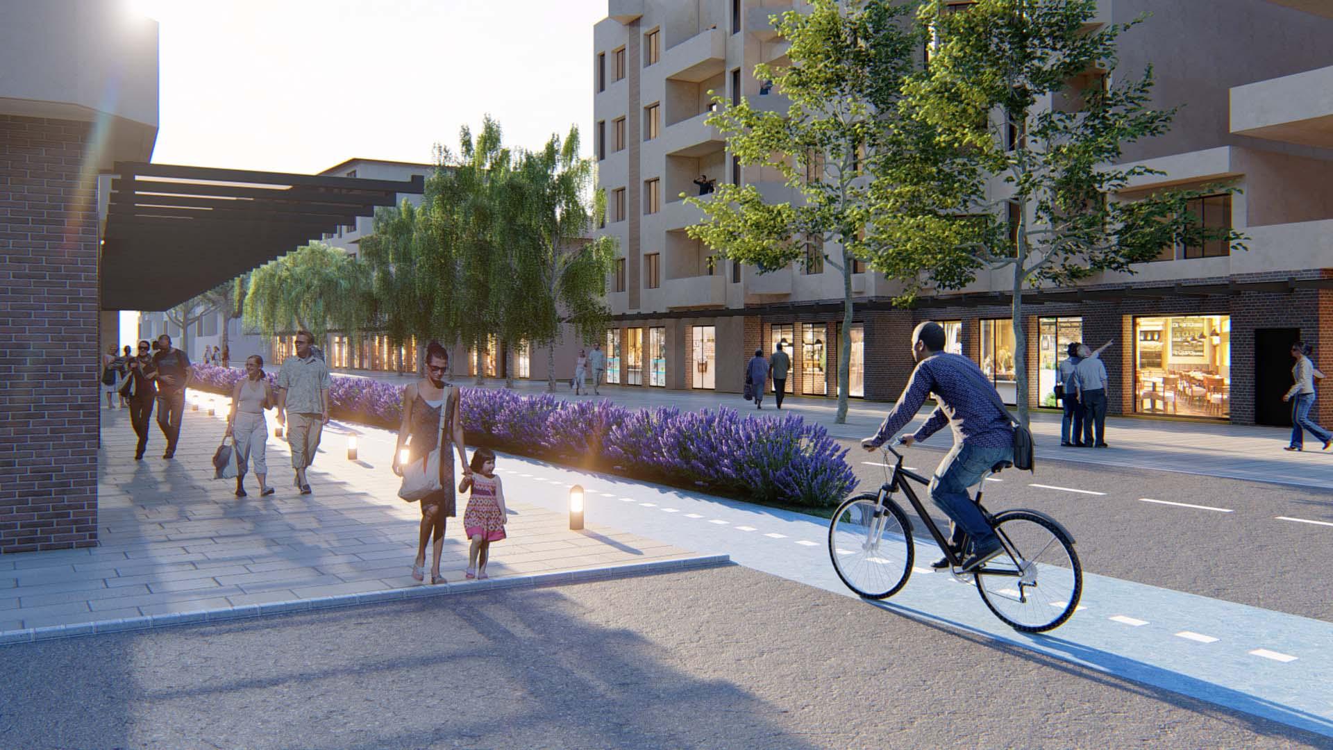 Güvenli Yaya ve Bisiklet Yolları