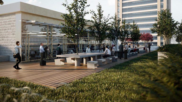 Çevre Şehircilik Bakanlığı Çatı Bahçesi