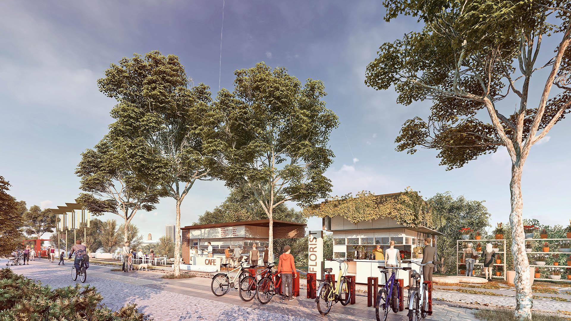 Bisiklet Park Elemanları ve Satış Birimleri