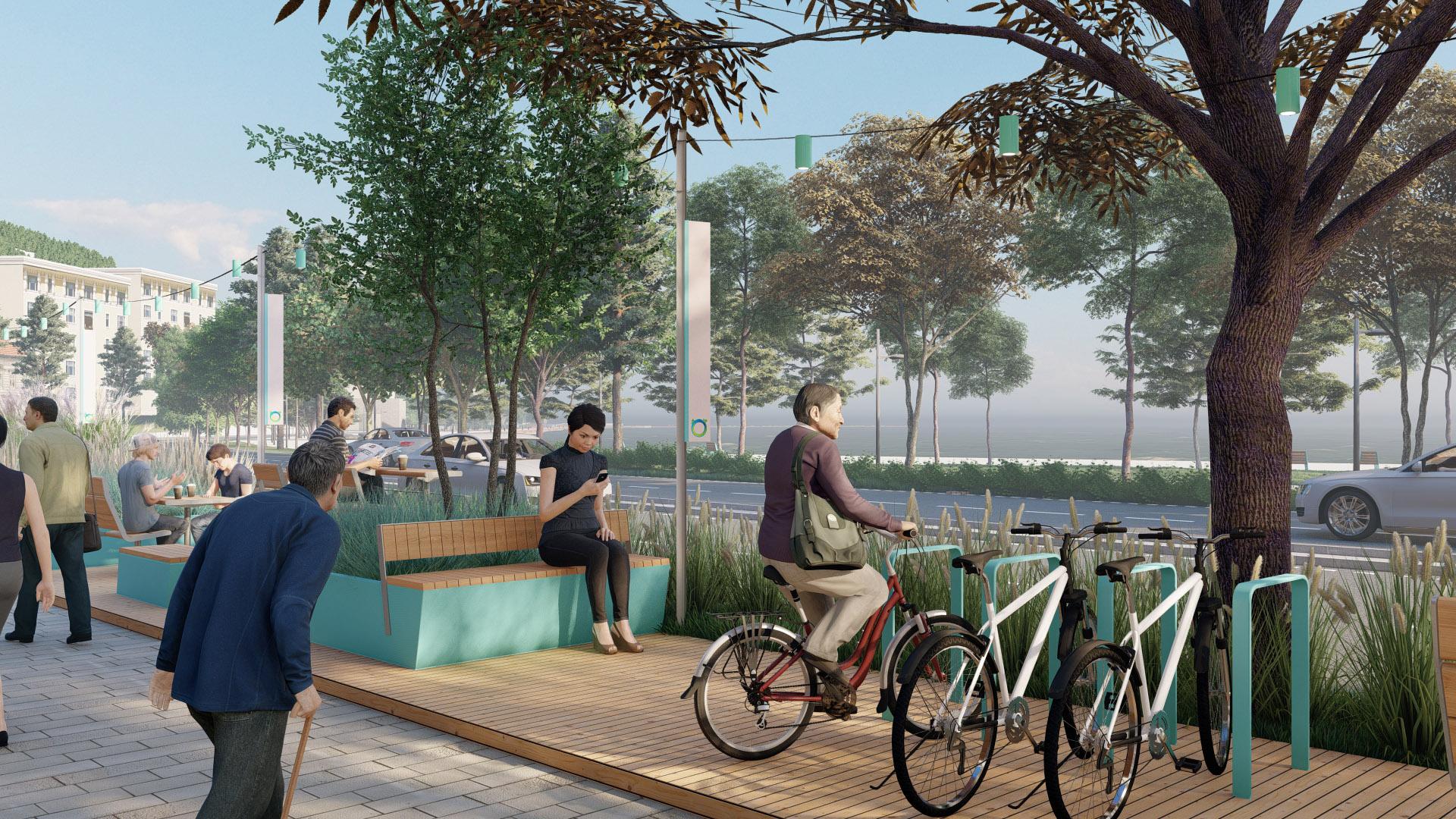 Bisiklet Park Elemanı ve Oturma Grupları