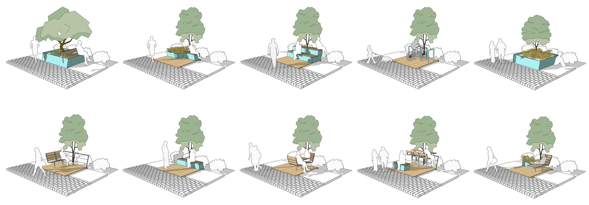 Oturma Birimlerin Diagramları