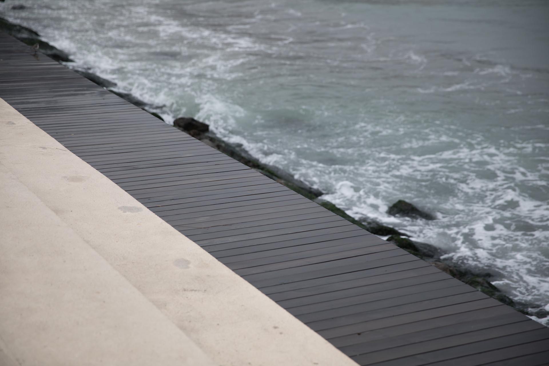 Oturma Duvarı, Seyir Alanı Yakın Açı