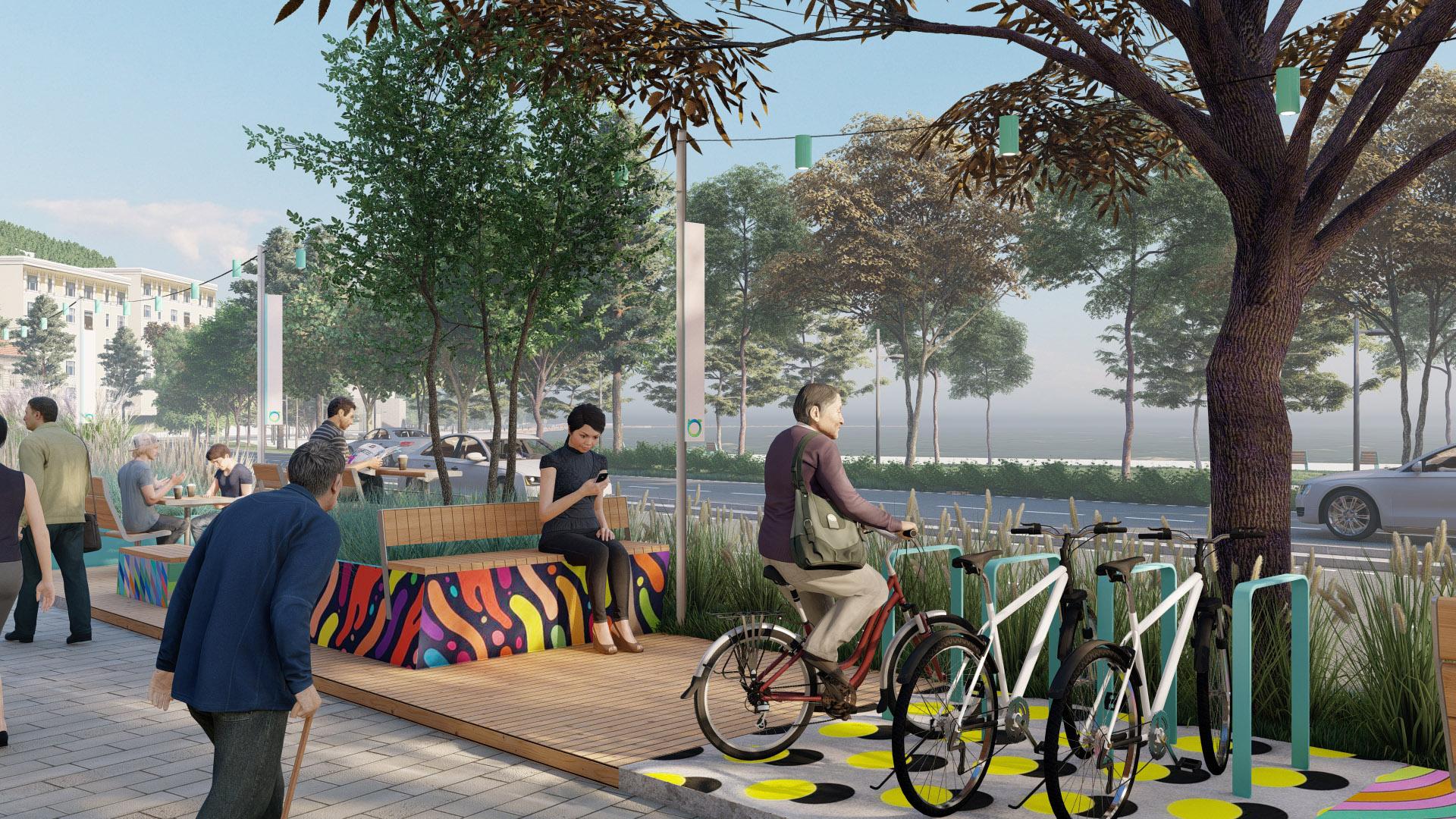 Bisiklet Parkları ve Oturma Birimleri