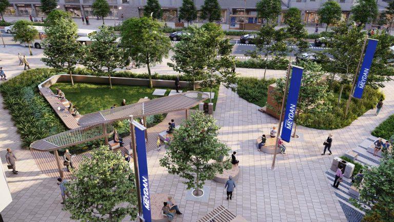 Çerkezköy Meydan Düzenleme Projesi